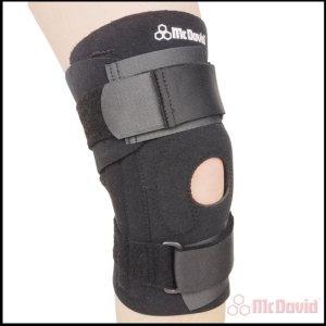 Универсальный бандаж колена с гибкими спицами
