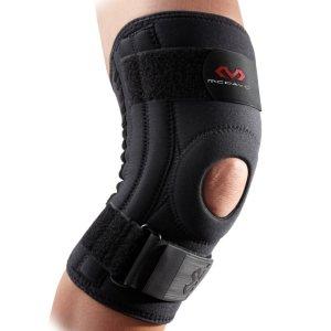 Неопреновый бандаж коленного сустава с гибкими спицами