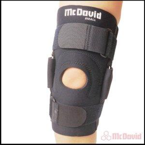 Бандаж на колено с металлическими боковыми вставками