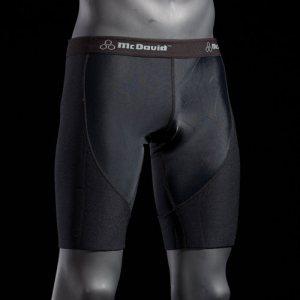 Неопреновые шорты со вставкой из компрессионного материала