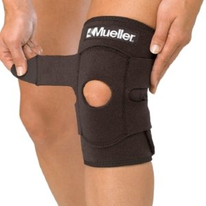Бандаж на колено MUELLER 4531 KNEE SUPPORT BLACK ADJUSTABLE