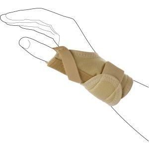 Лучезапястный бандаж с пружинной вставкой