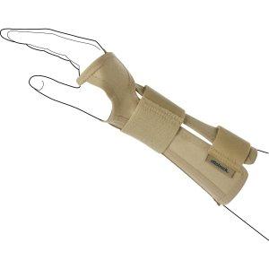 Лучезапястный ортез с пластмасовой шиной анатомической формы