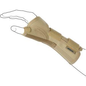 Лучезапястный ортез с пружинной вставкой