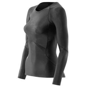Женская футболка компрессионная с длинным рукавом Skins Bio RY400