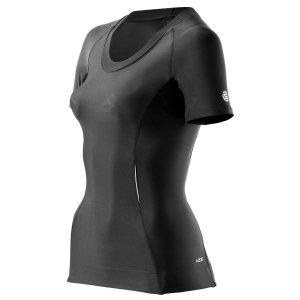 Компрессионная женская футболка с коротким рукавом Skins A200