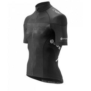 Джемпер на молнии с коротким рукавом повышенной компрессии Skins C400