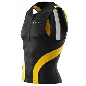 Футболка на молнии без рукавов Skins TRI 400