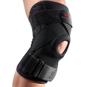 Неопреновый бандаж колена с ремнями для защиты крестообразных связок