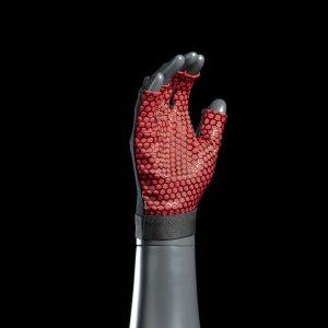 Перчатки без пальцев с прорезиненной поверхностью