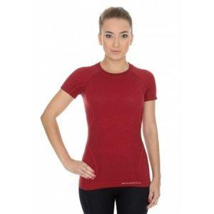 Женская двухслойная футболка с коротким рукавом из мериносовой шерсти ACTIVE WOOL