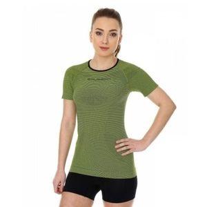 Женская бесшовная футболка с коротким рукавом 3D Bike PRO