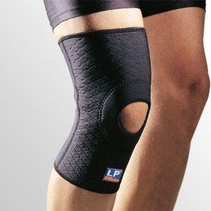 Суппорт колена усиленный с открытой коленной чашечкой