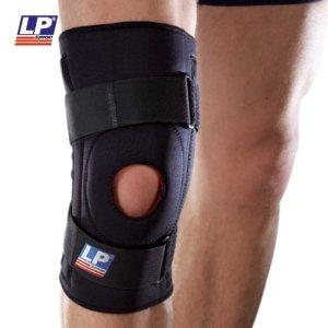 Неопреновый стабилизатор колена с силиконовой вставкой