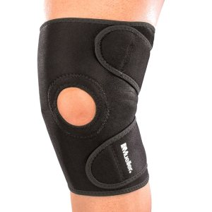 Универсальный фиксатор колена с открытой коленной чашечкой