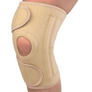 Универсальный стабилизатор колена с открытой коленной чашечкой