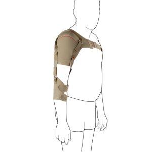 Плечевой бандаж с наружными фиксирующими лентами