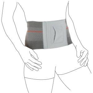 Женский приталенный трикотажный бандаж