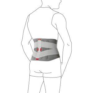 Поясничный корсет с эластичными ремнями