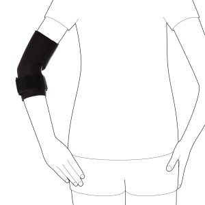 Бандаж с лёгкой фиксацией и поддержкой локтевого сустава