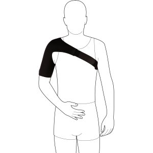 Согревающий плечевой бандаж, обеспечивающий легкую фиксацию