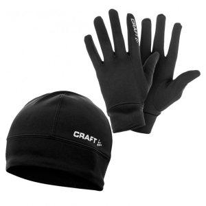 Термокомплект шапка+перчатки CRAFT