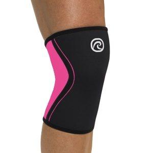 Тонкий женский неопреновый бандаж на колено