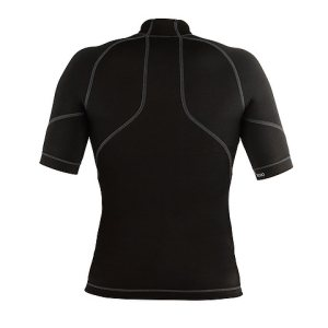 Женская компрессионная футболка с коротким рукавом