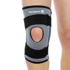 Бандаж колена с боковыми пружинными вставками