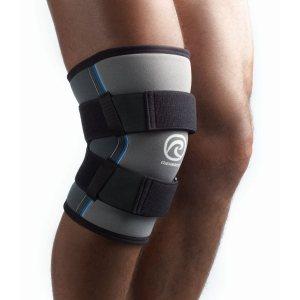 Усиленный бандаж колена для силовых видов спорта